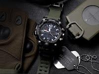 Военно-спортивные часы SMAEL 1545, противоударные, водонепроницаемые - обзоры туристического снаряжения.
