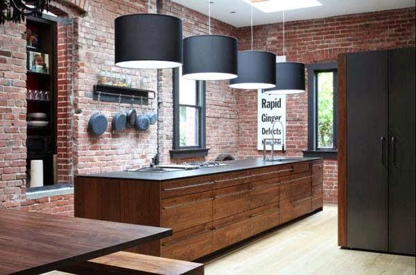 Come Fondere Cemento Acciaio E Legno Per Una Cucina Industrial Style Coffee Break The Italian Way Of Design