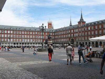 La Plaza Mayor es el lugar donde se desarrollan gran cantidad de actos públicos, entre los que se celebraban las corridas de toros.