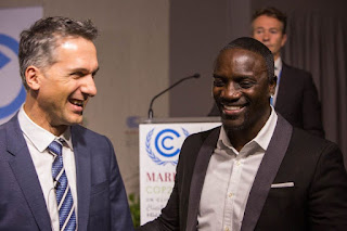 Singer Akon Lands In Morocco To Join President Buhari, Others For World Climate Summit (Photos)