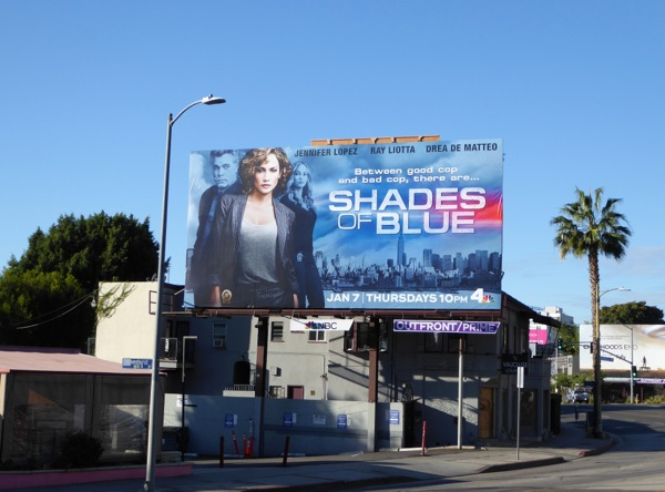 Shades of Blue TV series billboard