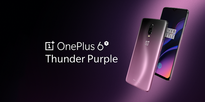 OnePlus 6T coming in Thunder Purple color