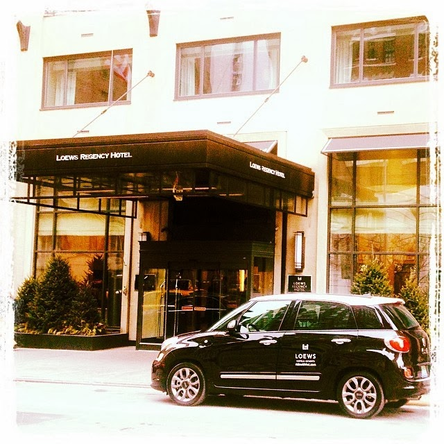 Fiat at Loews Regency Hotel in New York