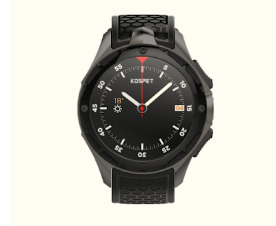 Kospet kt58 3G Smartwatch With 2GB RAM/16GB ROM just for $9.99