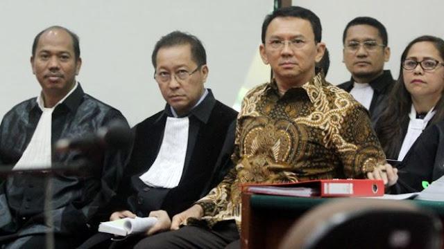 Nah Loh... Komisi III DPR RI Sebut Penundaan Sidang Ahok Agar Elektabilitas Tak Jeblok