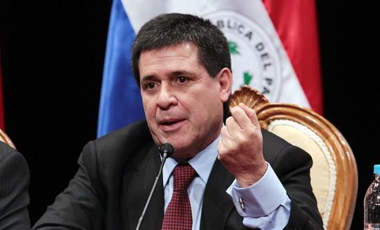 Presidente Horacio cartes