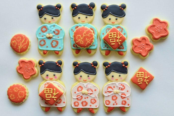 Cookie and Me: Chinese New Year Cookies