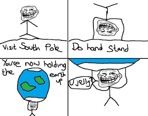 U Jelly Trollface Troll physics comics  ...