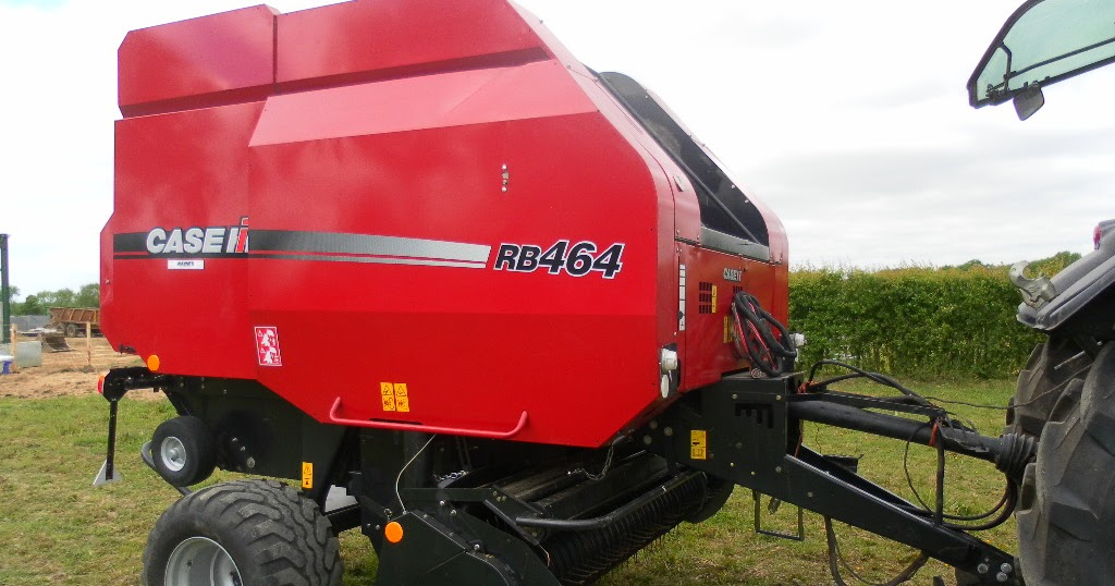 Used Tractors Machinery And Plant Case Rb 464 Round Baler