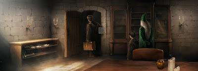 L'ufficio del professor Lupin (Momento 1)