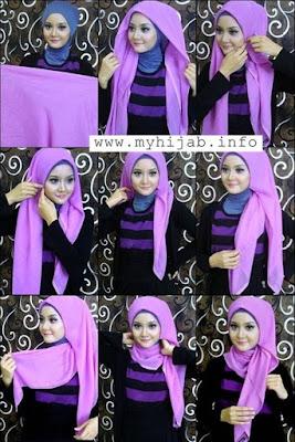 Tutorial Hijab Jilbab Segitiga yang Praktis dan Simple