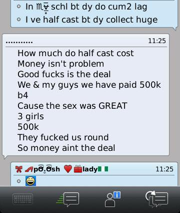sex chat for money