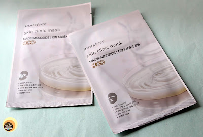 Innisfree Skin Clinic Sheet Masks- Madecassoside
