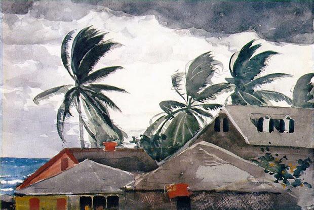 Hurricane by Winslow Homer Bahamas