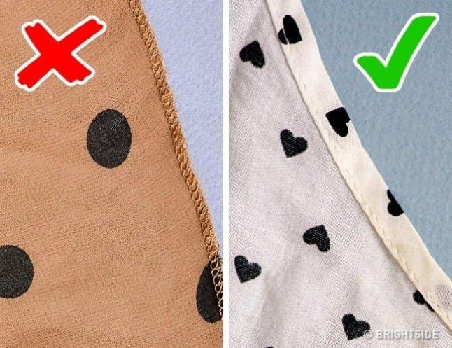 2a50ff062 10 نصائح عند شراء الملابس سوف تكون بمثابة دليلك للتعرف على المنتجات ...