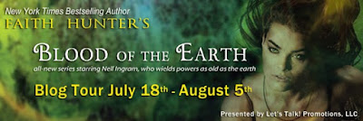 Excerpt, Giveaway, Review, Blood of the Earth, Faith Hunter, Bea's Book Nook