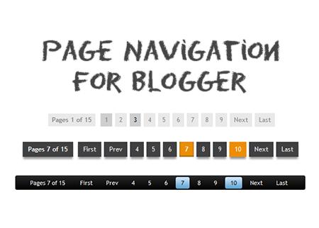 Tạo phân trang cho blogspot (Blogger) Version 1