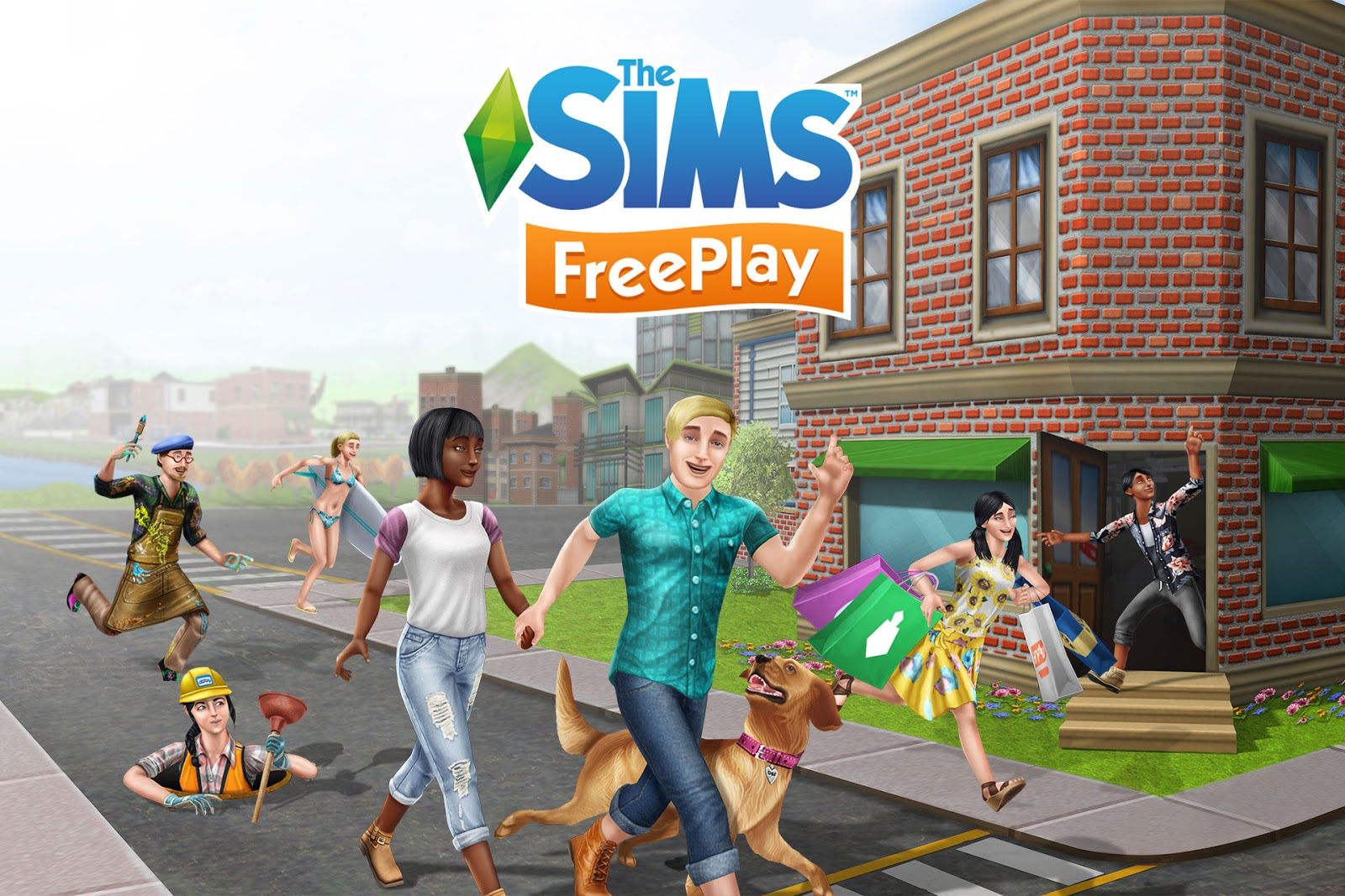 The Sims FreePlay Download Poster