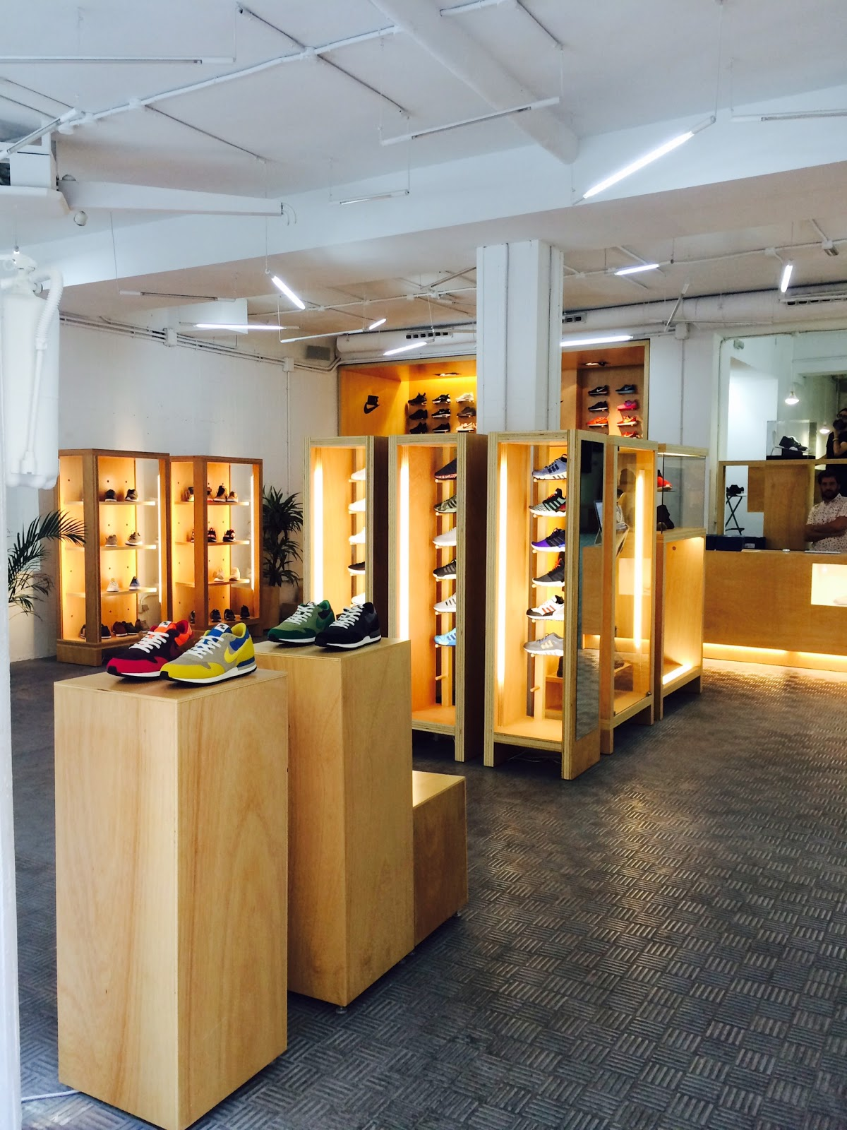 Malasaña Hotspots Madrid Sneaker shop