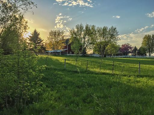 Farm and Sunset along the Ice Age National Trail - East Lodi Marsh Segment