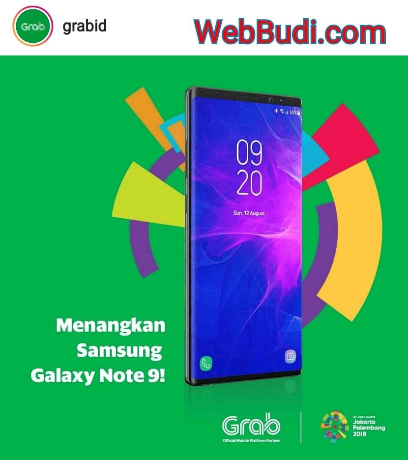 Kuis Grabid #KemenanganItuDekat Berhadiah Samsung Galaxy Note 9 ...