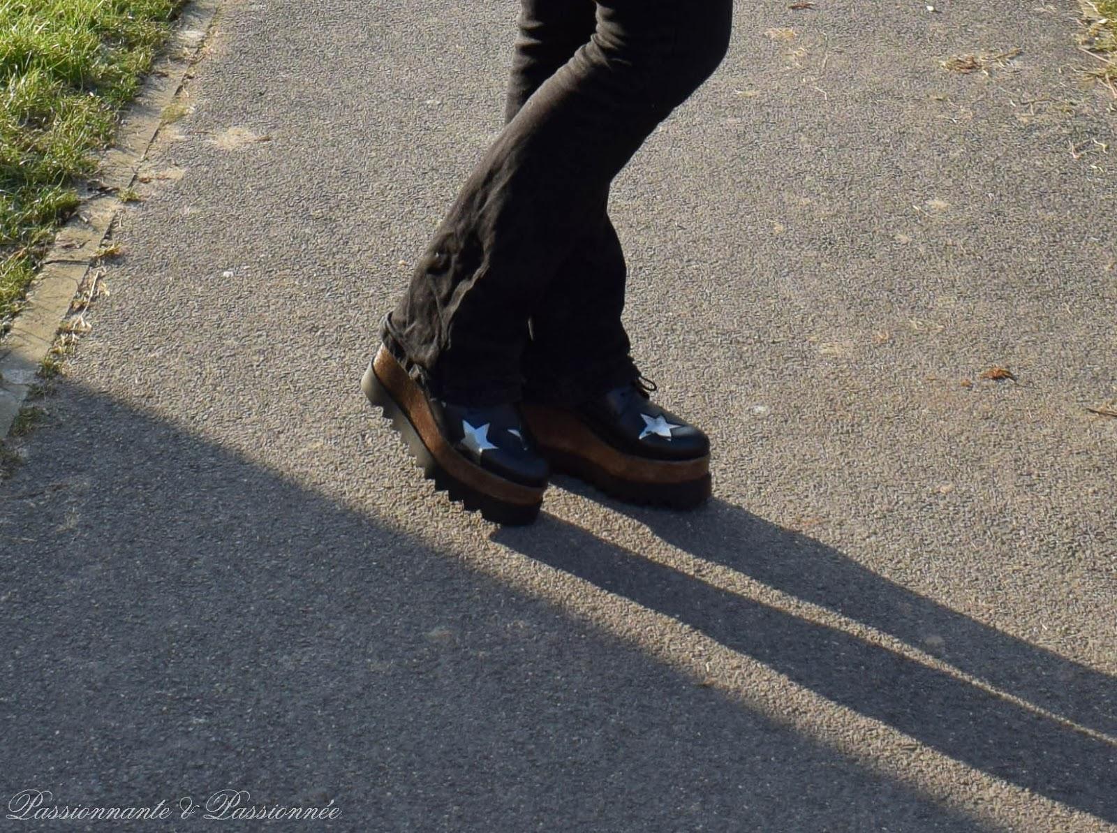 compensée plateforme sacha shoes