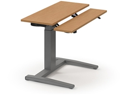 HE3048MS Sit To Stand Desk