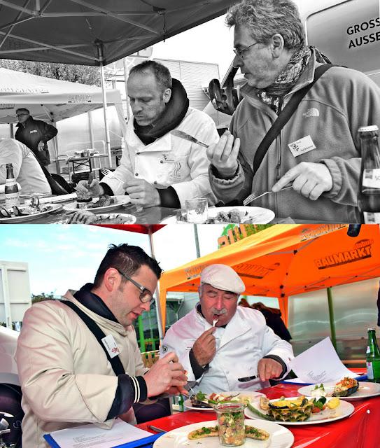 Jury der Grillmeisterschaft in Gensingen