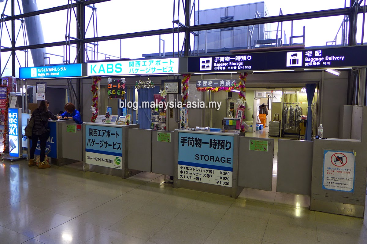 Osaka Airport Luggage Baggage Wrapping Storage