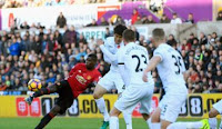 Swansea City vs Manchester United 1-3 Video Gol & Highlights