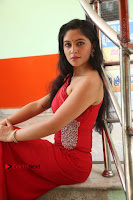 Actress Zahida Sam Latest Stills in Red Long Dress at Badragiri Movie Opening .COM 0122.JPG