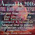 Lunar Eclipse - Full Moon: August 18 2016