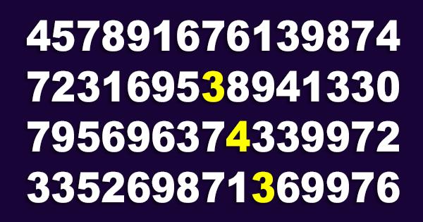 """Imagen de Brevemente localiza el número """"343"""" 13"""