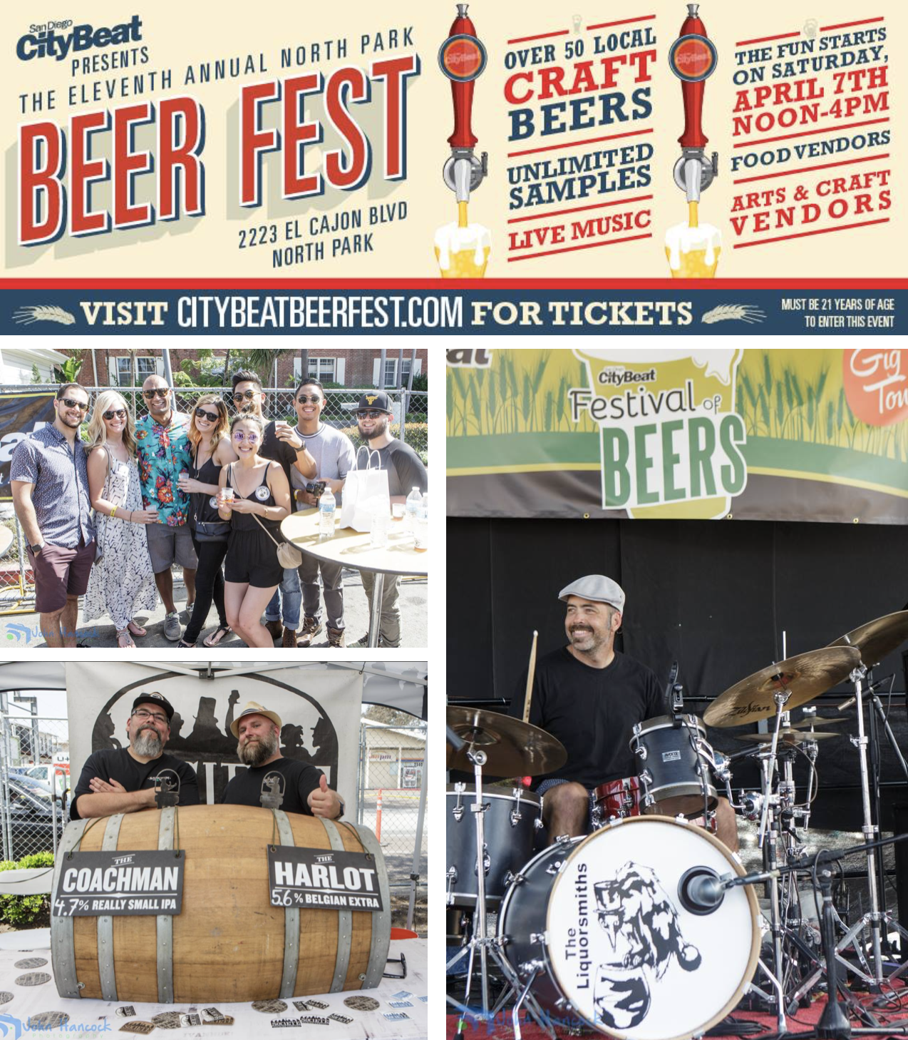 sandiegoville 11th annual citybeat festival of beers returns to north park on april 7 save on. Black Bedroom Furniture Sets. Home Design Ideas
