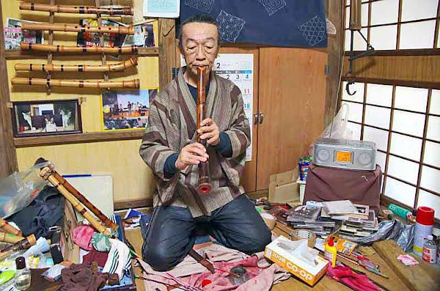 music;Touji Hatten;Japanese bamboo flute; Shakuhachi