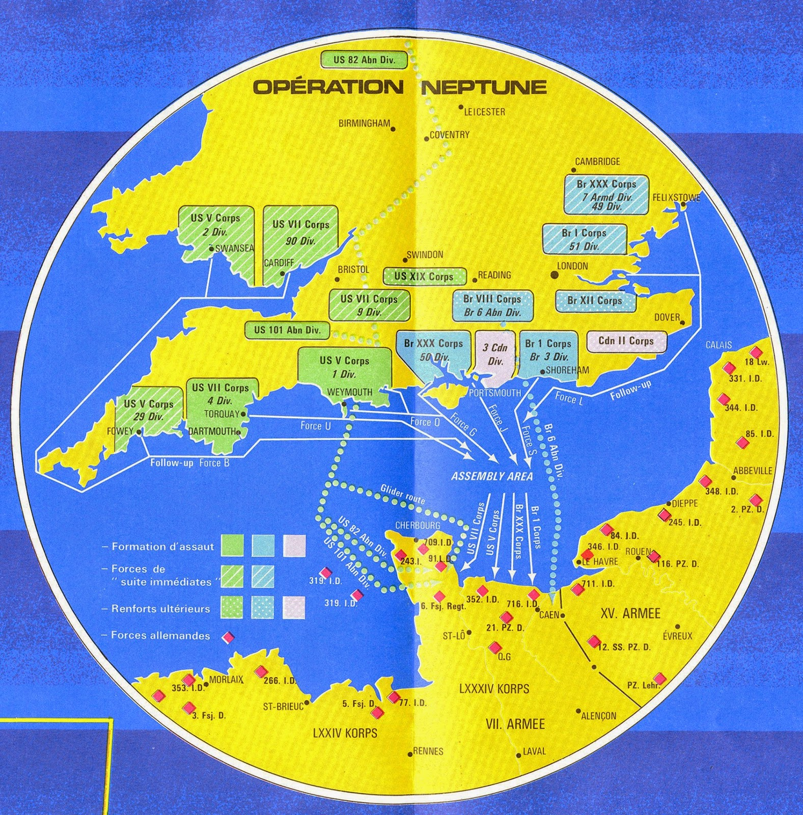 Gis Research And Map Collection D Day Normandy Invasion