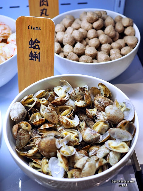 牛摩 Wagyu More Sunway Pyramid Malaysia Shabu Shabu Buffet Menu -Clams