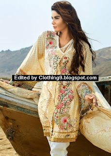 Beech Tree Unstitched Lawn Dresses 2016-2017
