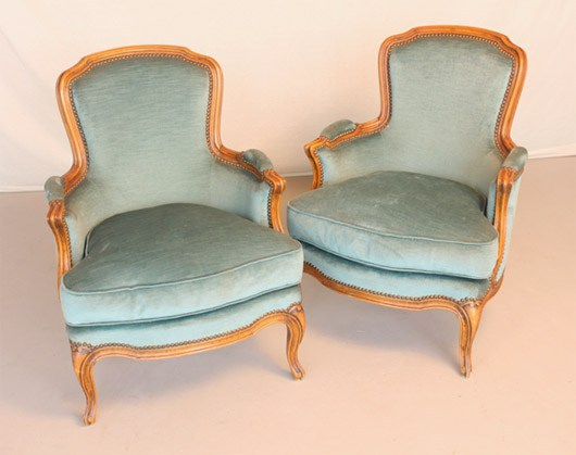 Antique Louis XV chairs