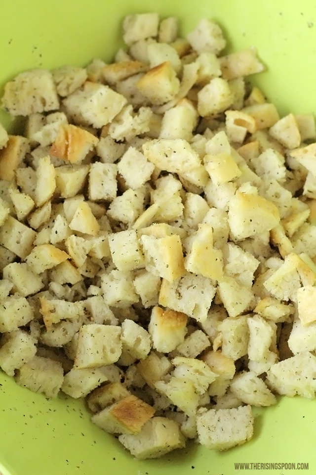 Easy Homemade Croutons Recipe