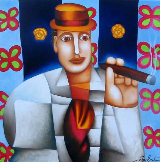 Philippe Loubat. Современный французский художник 5
