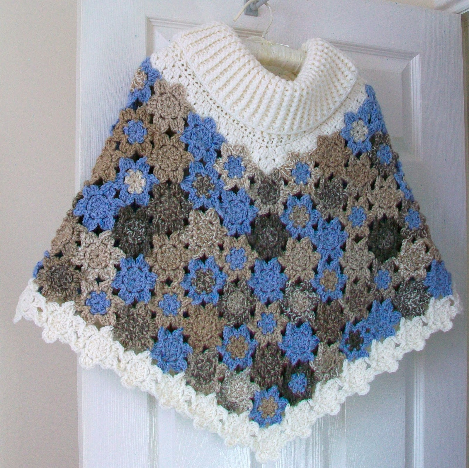 Cuppa Crochet: A Twist on the Cowl Neck Poncho
