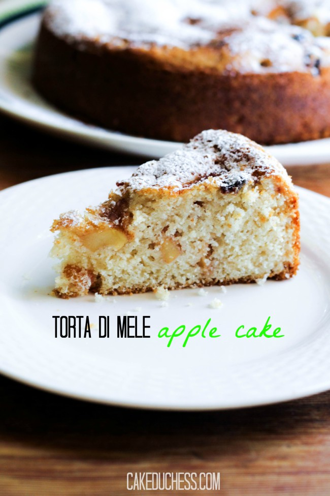 Torta di Mele-Apple Cake