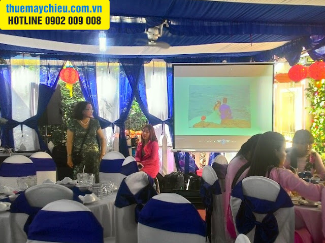 VNPC cho thuê máy chiếu tổ chức đám cưới ở Long An