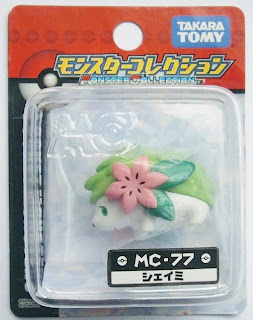 Shaymin figure land form Takara Tomy Monster Collection MC series