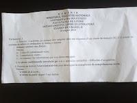 Subiecte gradul II limba franceza Pitesti, august 2015