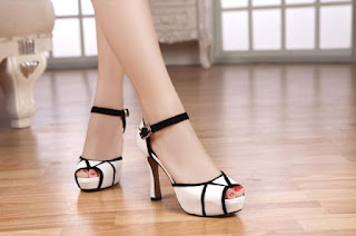 high heels putih 99rb