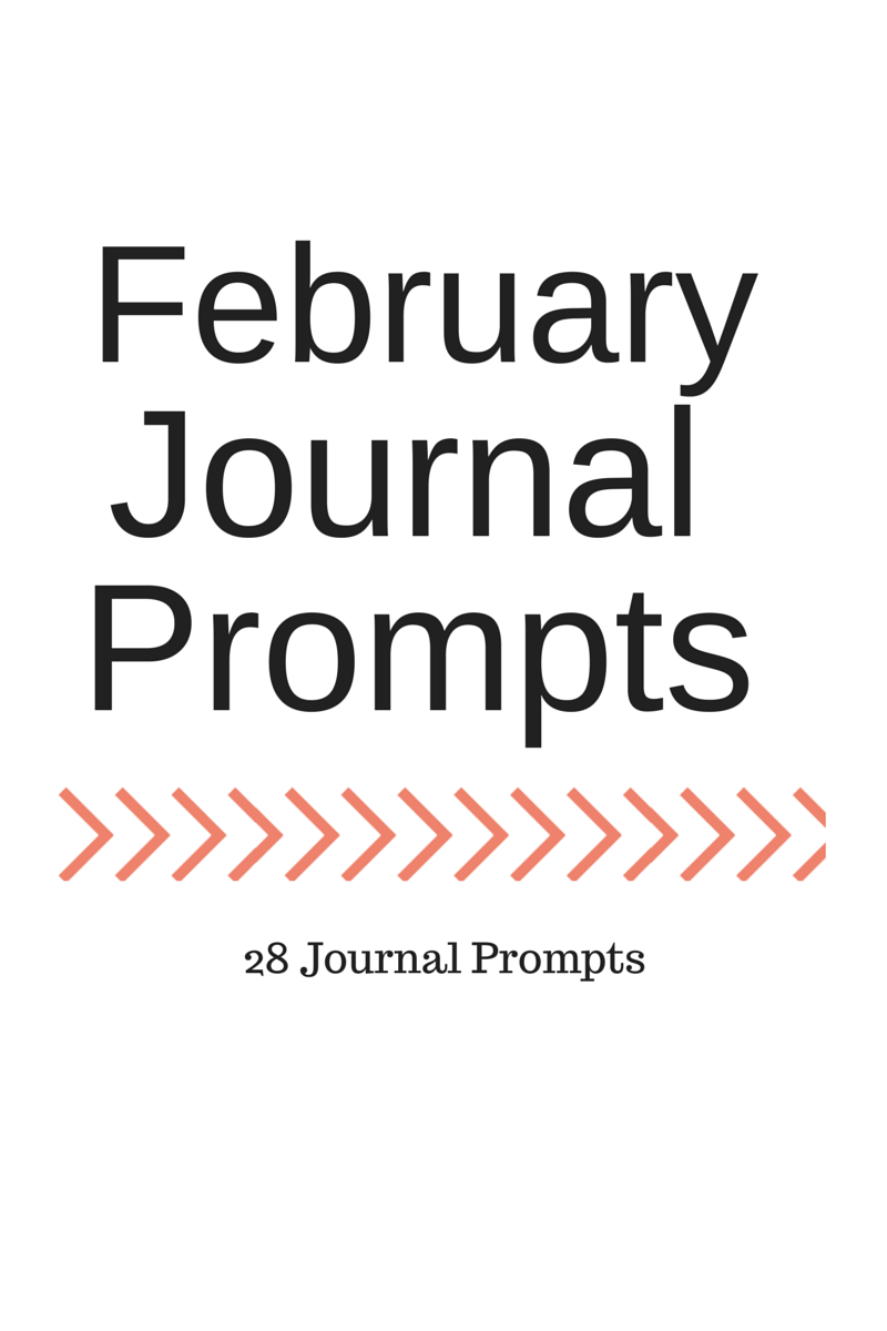 Life of Lovely: February Journal Prompts + printable