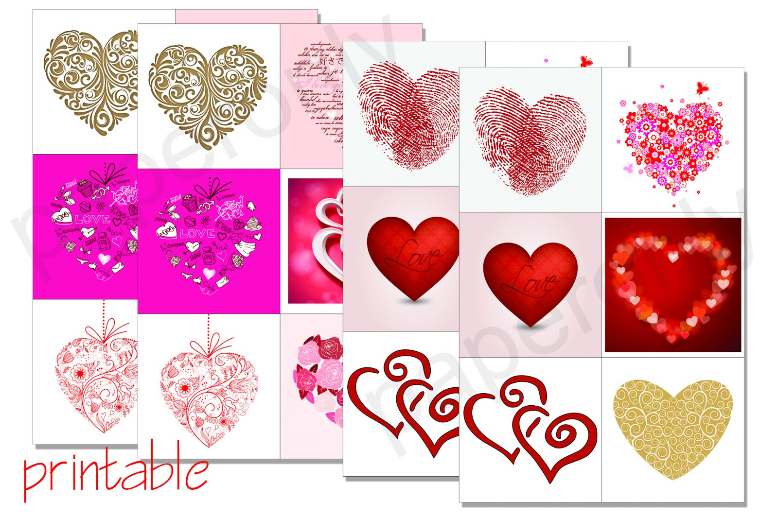 Printables Valentines Day