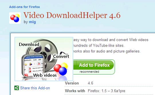 شرح اضافة Video Download Helper بديل برنامج idm